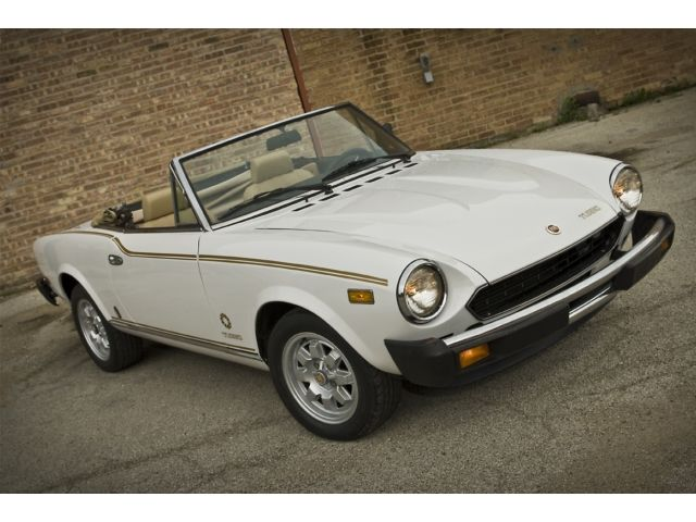 1982 Fiat Spider turbo for sale