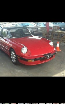 1987 Alfa Romeo Spyder for sale