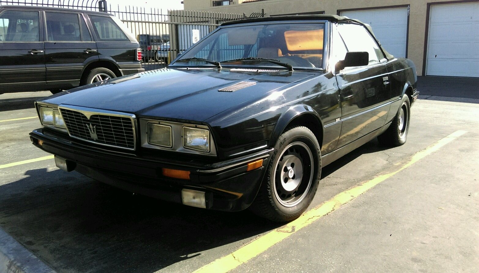 1987 maserati biturbo spyder zagato convertible for sale. Black Bedroom Furniture Sets. Home Design Ideas