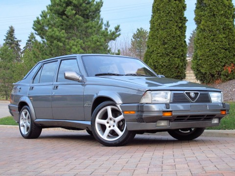 1988 Alfa Romeo Milano Verde 3.0 for sale