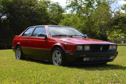 1990 Maserati 2.24 Twin turbo for sale