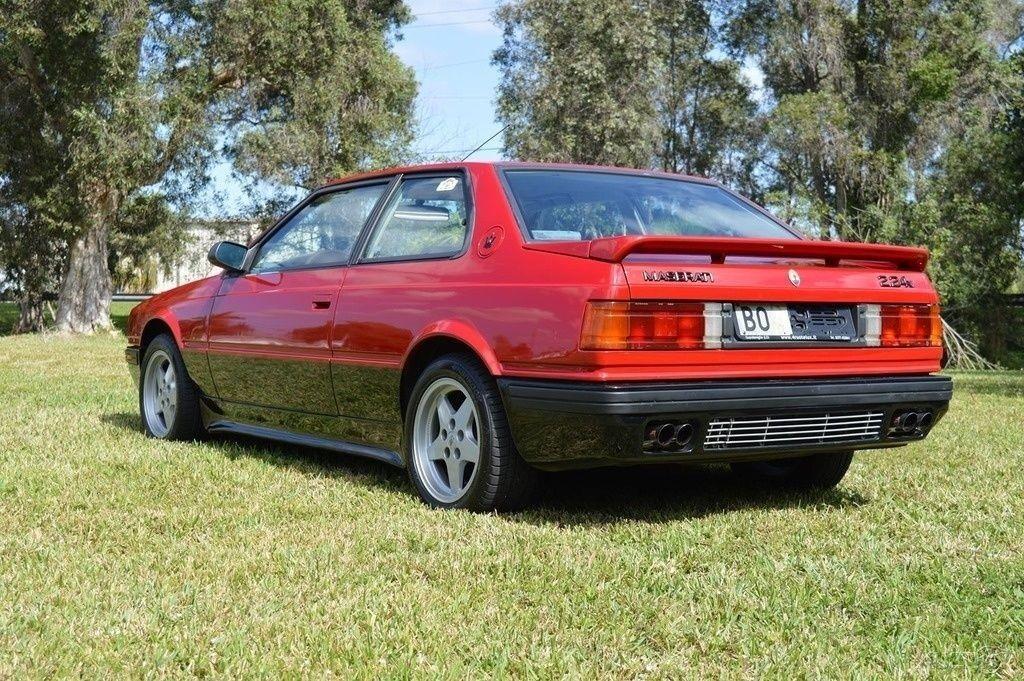 1990 Maserati 2.24 Twin turbo
