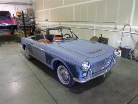 1960 Fiat Pininfaina 1200 Convertible for sale