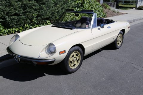 1982 Alfa Romeo Spider Has Factory Hardtop for sale
