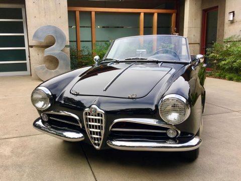 1958 Alfa Romeo Giulietta 750 Spider (Upgraded to Veloce spec) for sale