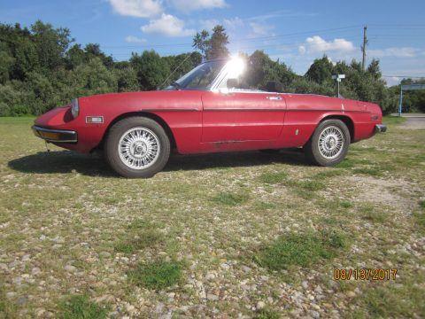 1971 Alfa Romeo Spider with thin blade Turbina wheels for sale