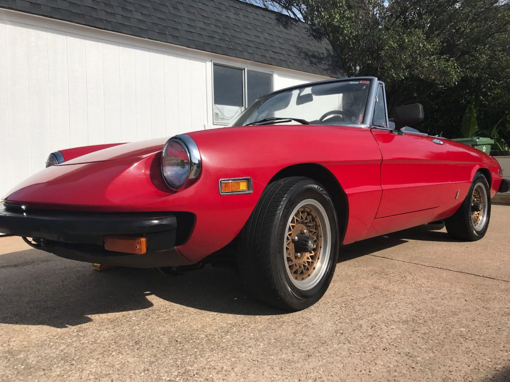 Alfa Romeo Spider For Sale X