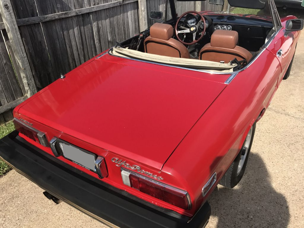 1989 alfa romeo spider quadrifoglio for sale