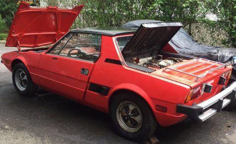 1976 Fiat X 1/9 Targa ready for resetoration for sale