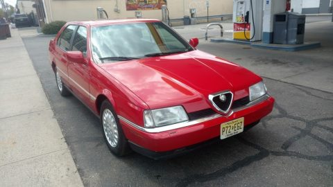 Red Beauty 1995 Alfa Romeo 164 LS for sale