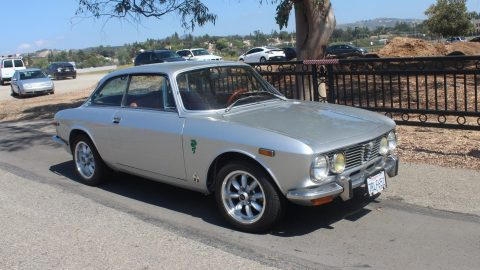 Silver 1974 Alfa Romeo GTV for sale