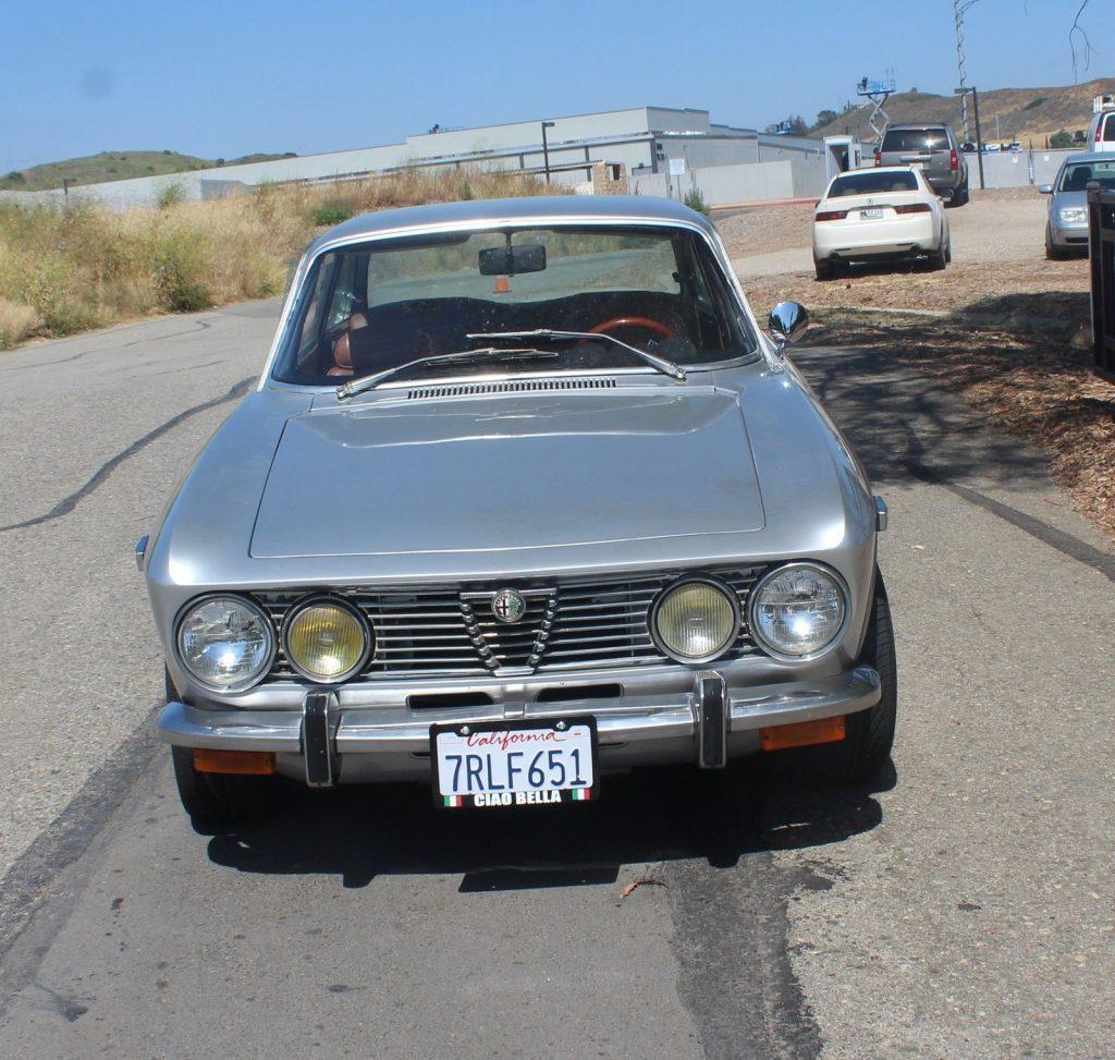 Silver 1974 Alfa Romeo GTV For Sale