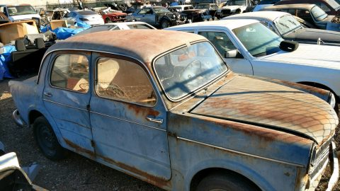 1958 Fiat Millecento 103 D project car for sale