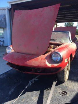 1973 Alfa Romeo Spider Barn Find for sale