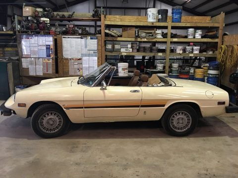 1976 Alfa Romeo Spider little roadster for sale