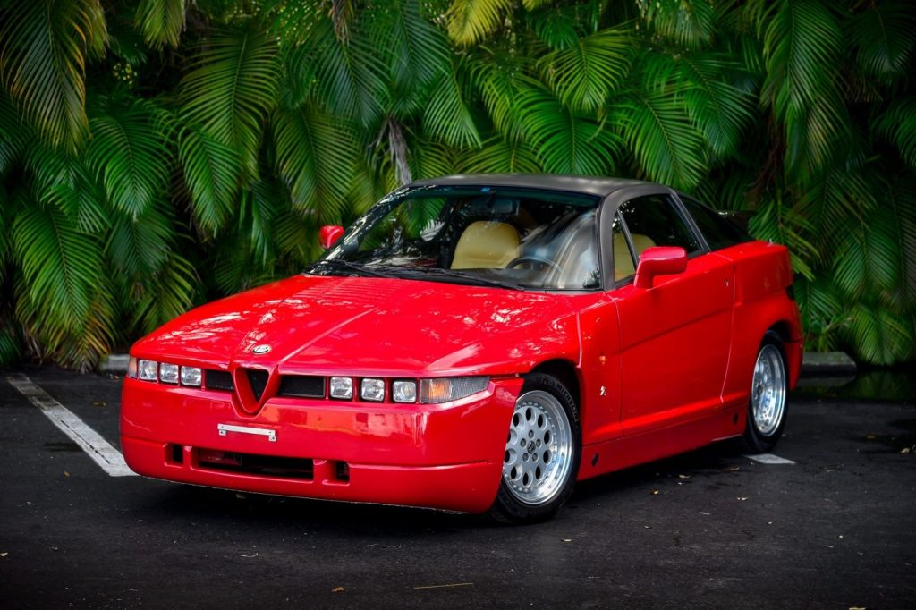 1990 Alfa Romeo SZ Sprint Zagato (#055 of 1000 Made)