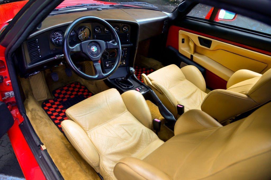 1990 Alfa Romeo SZ Sprint Zagato (#055 of 1000 Made)
