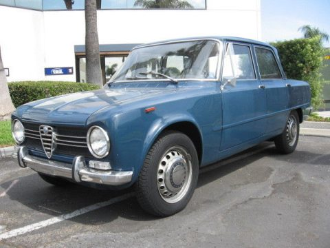 unmodified 1967 Alfa Romeo Giulia Ti 1300 for sale