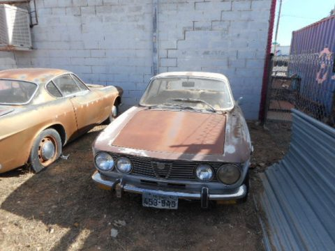 Unmolested 1974 Alfa Romeo GTV restoration project for sale