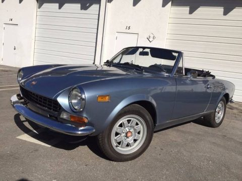 1974 Fiat 124 Spider for sale