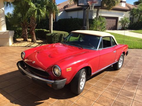 1983 Fiat Spider Pininfarina for sale