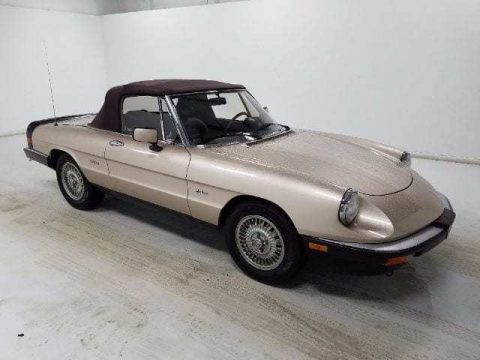 1987 Alfa Romeo Spider Grad for sale