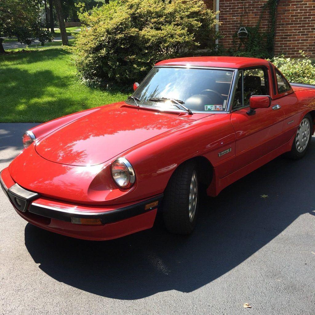 1989 Alfa Romeo Spider Quadrofolio