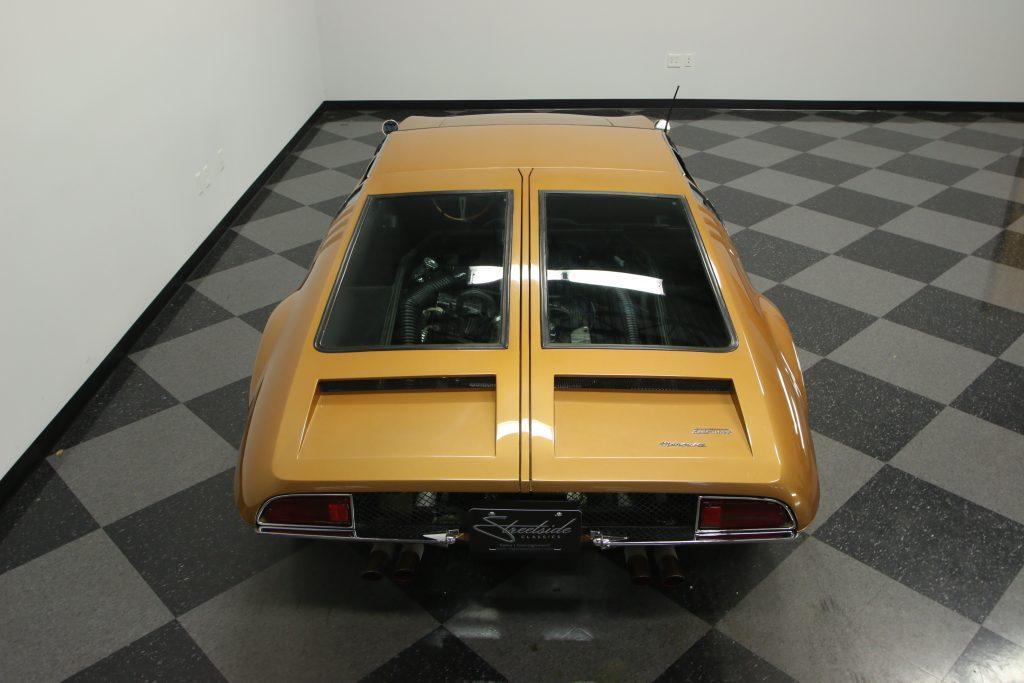 Amazing 1969 De Tomaso Mangusta