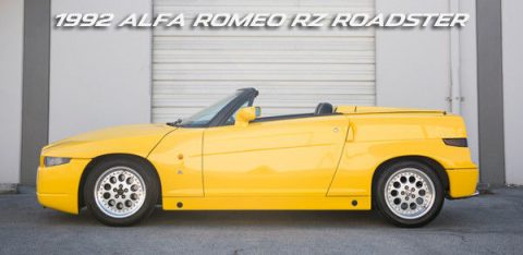 EXTREMELY RARE 1992 Alfa Romeo RZ Roadster Zagato for sale