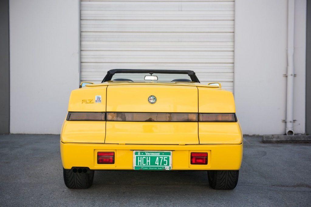 EXTREMELY RARE 1992 Alfa Romeo RZ Roadster Zagato