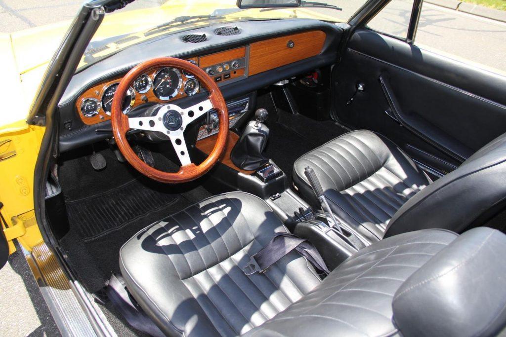 FULLY RESTORED 1970 Fiat 124 Spider