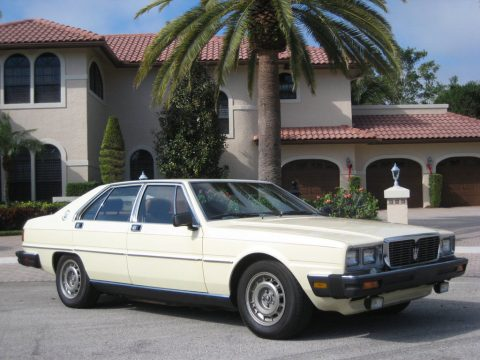 VERY RARE Classic Vehicle – 1982 Maserati Quattroporte for sale