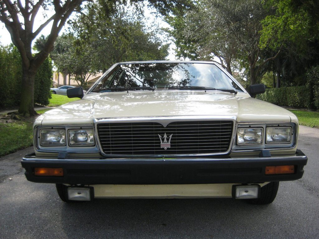 VERY RARE Classic Vehicle – 1982 Maserati Quattroporte