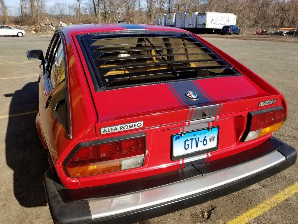 1984 Alfa Romeo GTV 6 – Runs Well