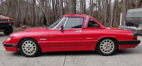 1989 Alfa Romeo Spider Quadrifoglio – Beautiful & Rare! for sale