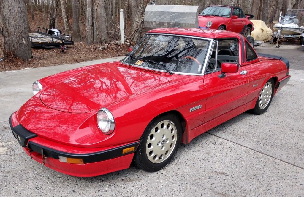 1989 Alfa Romeo Spider Quadrifoglio – Beautiful & Rare!