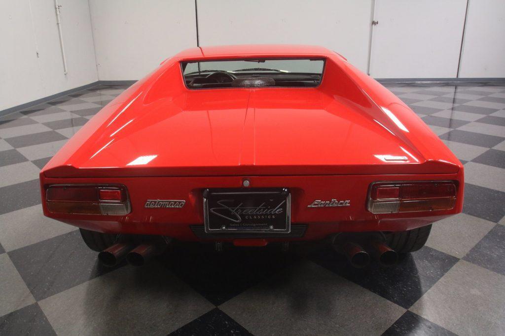 Gorgeous 1973 De Tomaso Pantera Restomod