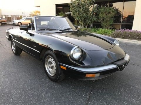 NICE 1987 Alfa Romeo Spider for sale