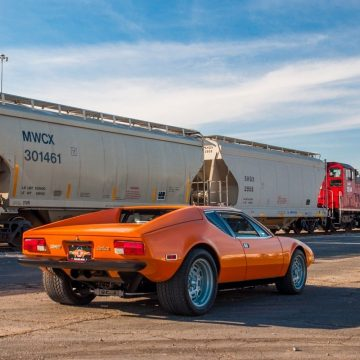 GREAT 1973 De Tomaso Pantera Ghia  for sale