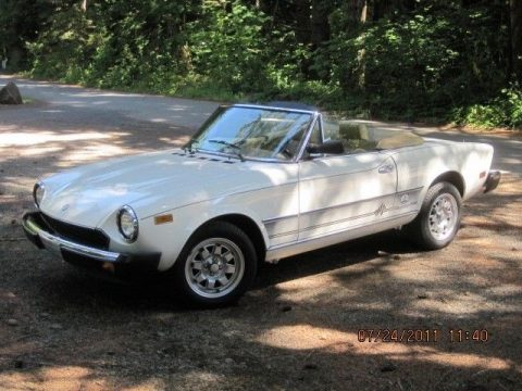 NICE 1983 Fiat 124 Spider for sale