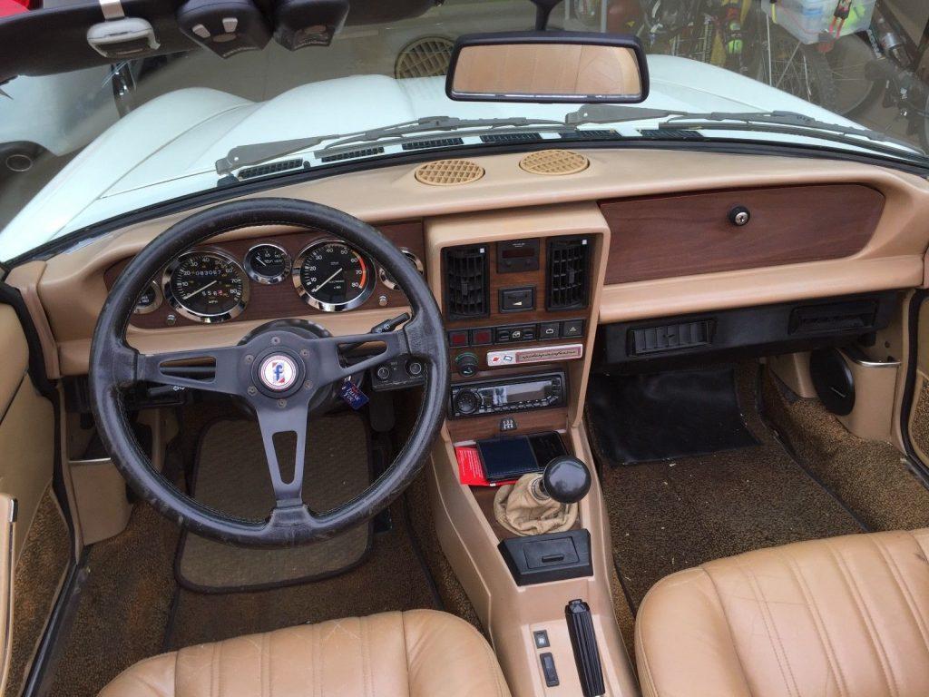 NICE 1983 Fiat 124 Spider