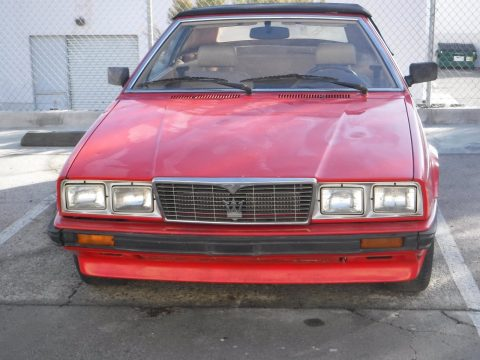 VERY RARE 1987 Maserati Spyder for sale