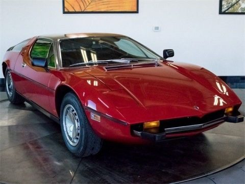 AMAZING 1973 Maserati Bora for sale