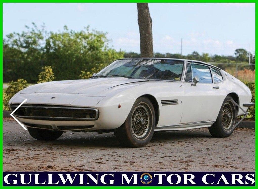 GREAT 1970 Maserati Ghibli