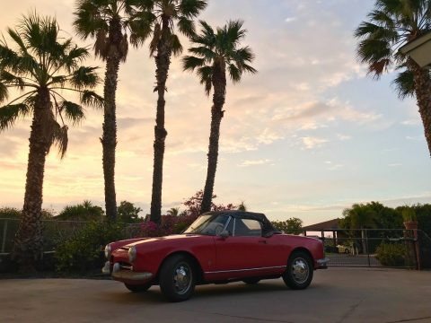 NICE 1962 Alfa Romeo Spider for sale