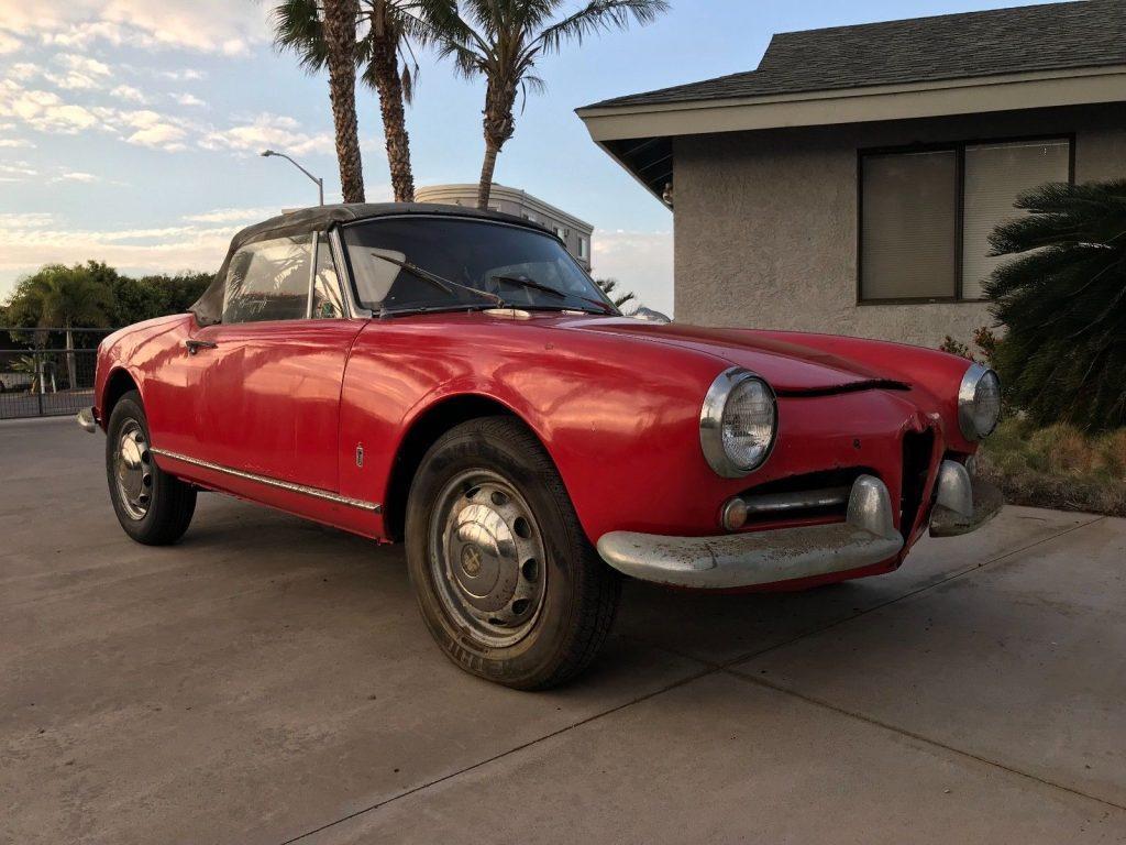 NICE 1962 Alfa Romeo Spider