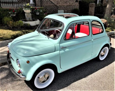 STUNNING 1965 Fiat 500 TRANSFORMABLE for sale