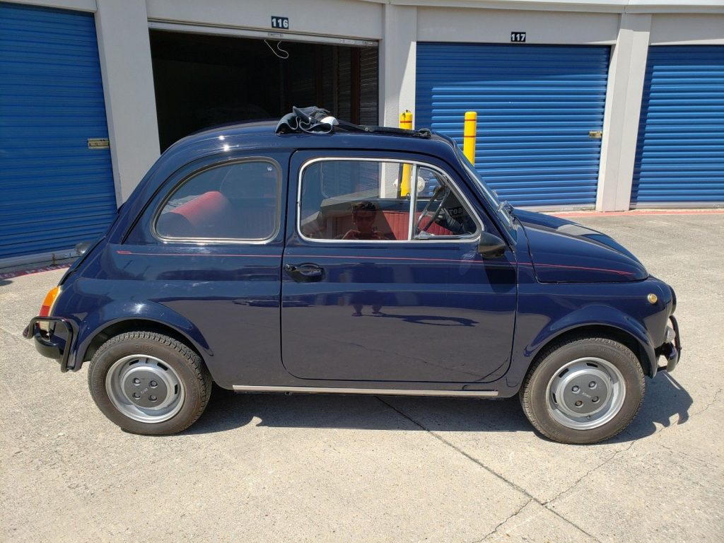 1971 Fiat 500L – Great condition for its age