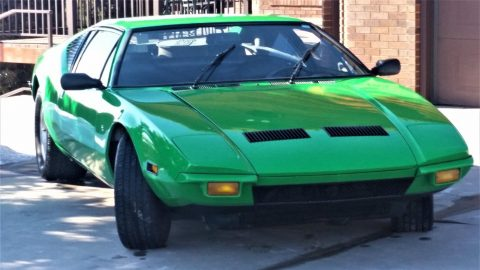 1972 De Tomaso – extremely reliable for sale