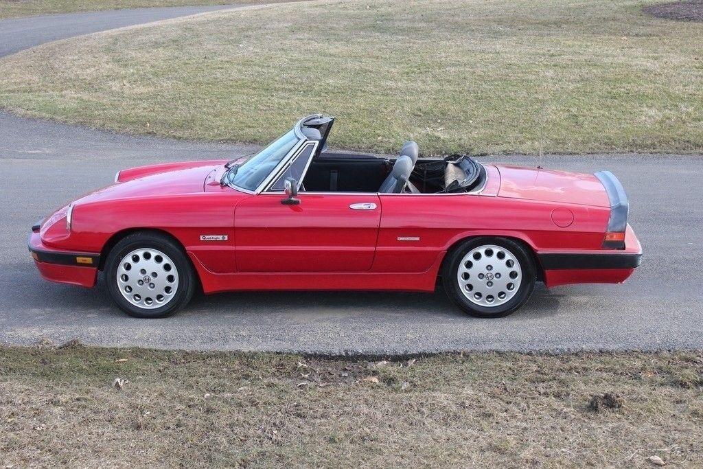NICE 1989 Alfa Romeo Spider convertible